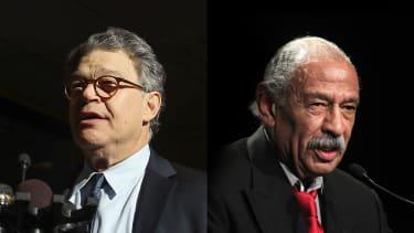 Sen. Al Franken and Rep. John Conyers.
