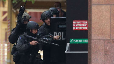 Part of downtown Sydney will remain closed amid hostage standoff