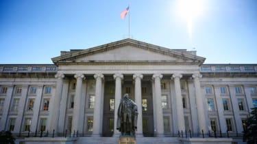The U.S. Treasury Department.