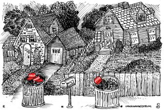 Political Cartoon U.S. MAGA hats Trump Capitol riot