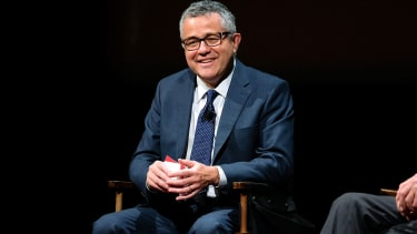 Jeffrey Toobin attends SAG-AFTRA Foundation's Conversations with Tom Brokaw at the SAG-AFTRA Foundation Robin Williams Center on October 7, 2016 in New York City.