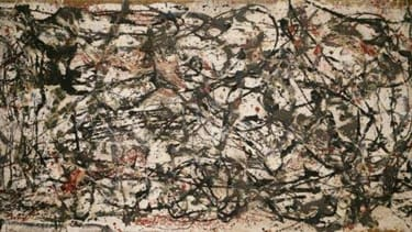 Physicists explain the science of Jackson Pollock's painting methods