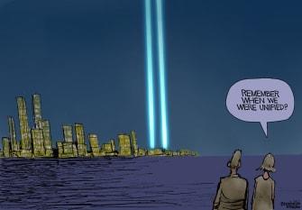 Editorial Cartoon U.S. September 11 unified
