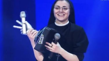 The internet's favorite 'singing nun' wins The Voice of Italy