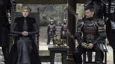 """A scene from """"The Dragon and the Wolf"""""""