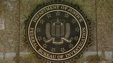 The FBI logo.