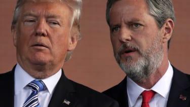 Jerry Falwell Jr. and Trump