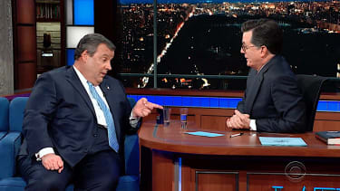 Chris Christie talks Trump with Stephen Colbert