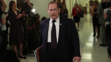 Rep. Jerrold Nadler favors impeachment