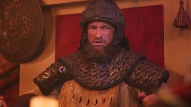 Attila the Hun as featured in Sen. Kelly Loeffler's ad.
