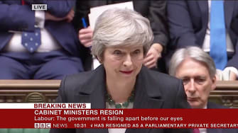 Theresa May tries to sell Brexit deal