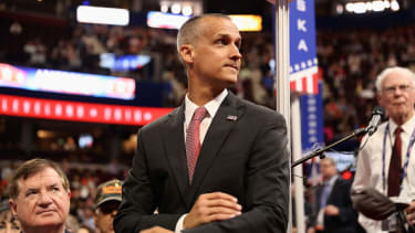 Corey Lewandowski at the Republican Convention.