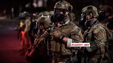 DHS troops in Portland
