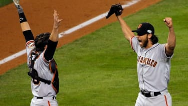 Giants win World Series, beating Royals in close Game 7