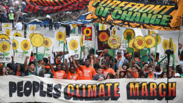Climate Change March, NYC