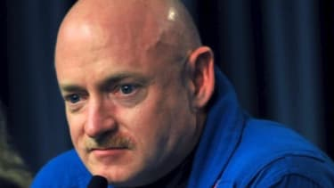 Rep. Gabrielle Giffords' husband Mark Kelly retires from NASA this fall and may be looking to politics for a career move.