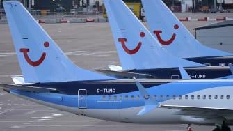 Max 737 jet.
