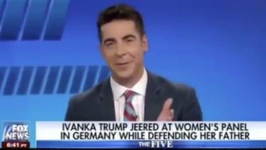 Fox news host on Ivanka Trump.