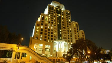Four Seasons hotel in Damascus.