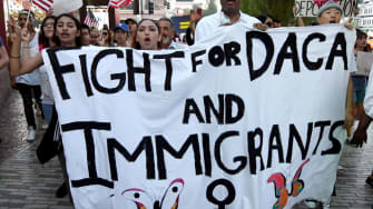 Immigration activists.