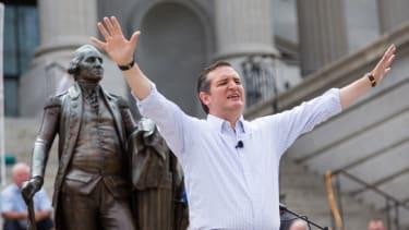 Ted Cruz tries to prove his religious devotion.