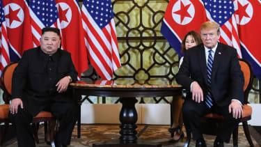 Trump and Kim Jong Un in Hanoi
