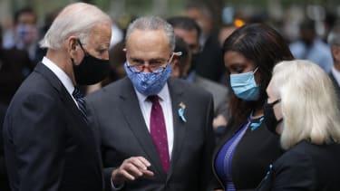 Joe Biden and Chuck Schumer.