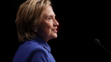 Hillary Clinton gives her first public remarks after conceding the election