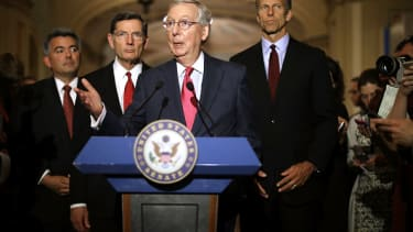 McConnell and Schumer worked together on the deal.