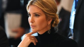 Ivanka Trump does not want to talk about her trademarks