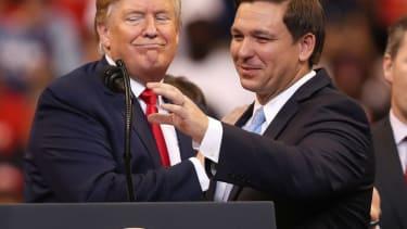 Trump and Gov. Ron DeSantis