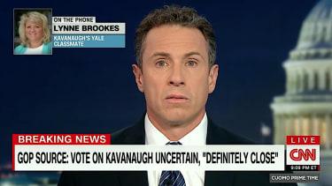 Lynne Brookes tells CNN that Kavanaugh was lying to the Senate