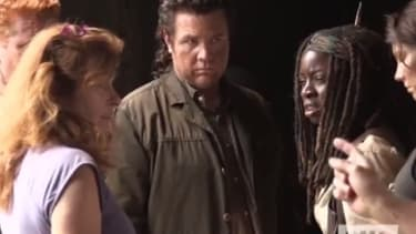 Watch a behind-the-scenes look at The Walking Dead season 5