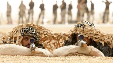 Members of Saudi special forces