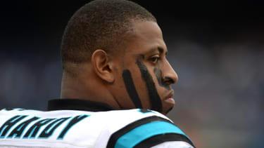 Carolina Panthers suspend Greg Hardy pending domestic violence case