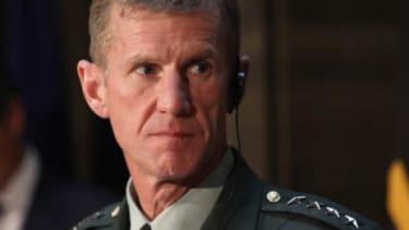 Commander General Stanley McChrystal.