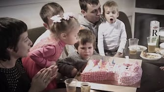 A child's birthday party
