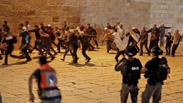 Protest in Jerusalem.