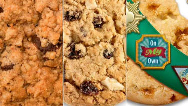 Here are this year's 3 new Girl Scout cookie flavors