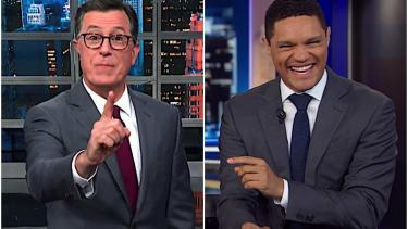 Stephen Colbert and Jimmy Kimmel explain Brexit