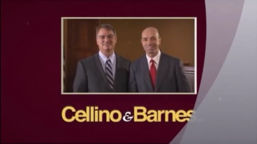 Cellino and Barnes, injury attorneys.