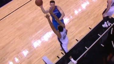 Nick Collison's impossible tip-in with 0.1 seconds left was the only good thing the Thunder did all night