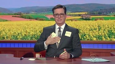 Stephen Colbert mocks Gwyneth Paltrow