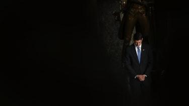Paul Ryan is not happy.