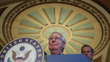 McConnell to the Senate: No recess for you!