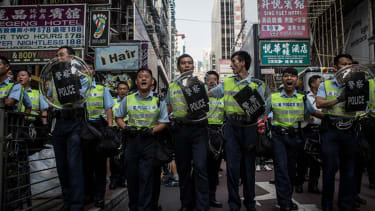 Pro-democracy protest camp dismantled in Hong Kong