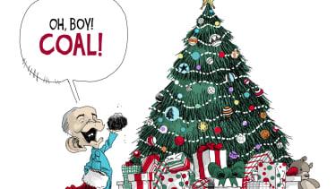 Political cartoon U.S. Scott Pruitt EPA coal