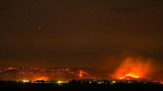 Wildfire in Oregon