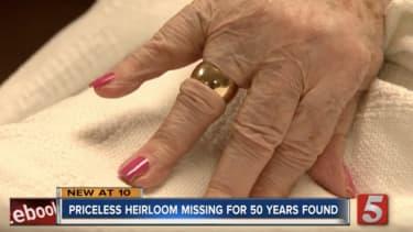 Florene Bush's ring.