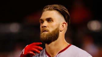 Bryce Harper of Washington Nationals.